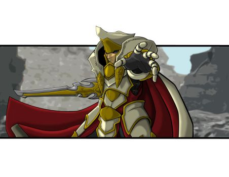 High Paladin Vilmon Colored by suldae