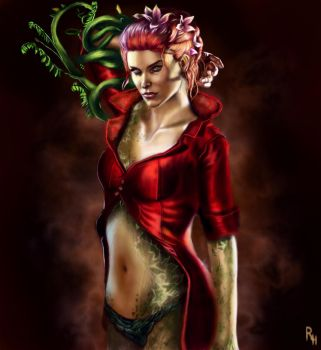 Poison Ivy by RowenHebing
