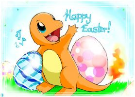 Charmander's Easter by worldofyarn