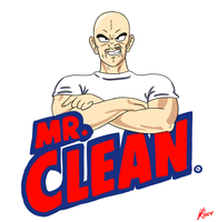 Mr Clean Nappa by Budgies