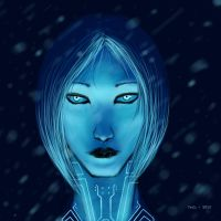 Cortana by Corrupted-Demon