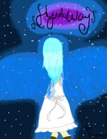 front cover of a story that I'm writing. by the-anime-snowflake