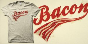 Bacon tshirt by biotwist