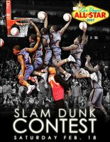NBA Slam Dunk Contest by alldawson