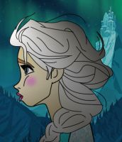 A Kingdom of Asolation - Elsa from Frozen by WeNeedTheMaus