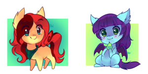 chibi pony batch 3 by pekou