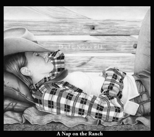 A Nap on the Ranch by DaleNorvell