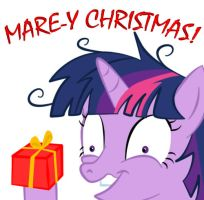 Mare-y Christmas 2 by Krellyan