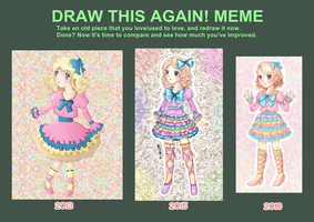 Draw This Again MEME 2016 by Dechii008