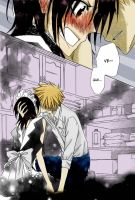 Usui and Misaki in the kitchen by LNK-Uzumaki