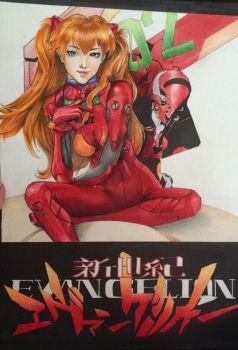Asuka Langley Soryu by jesseekaferrsherr