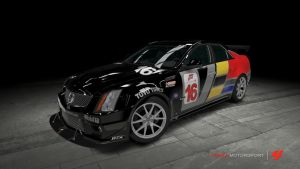 Cadillac CTS-V Race Car by OutcastOne