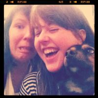 Maz, the dog, and me by catemate