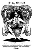 H.P. Lovecraft by eddaviel