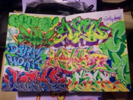 Old Blackbook by GeOnE
