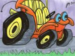 Speed Buggy sketch card by johnnyism