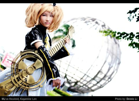 Kagamine Rin - Universal Music by shutter-puppy