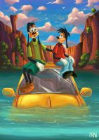 Goofy Movie by lanfanarts