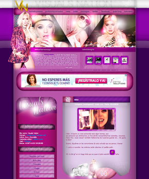 Visuals Nation 1.0 Theme by DontCallMeEve