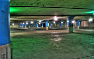 Parking Garage by RyoThorn