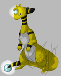 Zenevieva the Ampharos by DireTylo