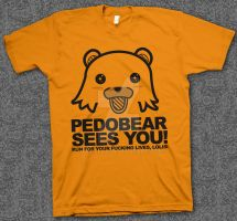 Pedobear Sees You by hizzilitis