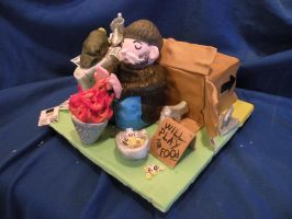 Recessionopoly: Threadcakes by cake-engineering