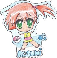 Misty/Kasumi chibi by The-P3nguin