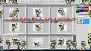 AP Hetalia: Navy America Shimeji Download by TionneDawnstar