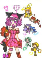 we are: TOKYO MEW MEW by littlemeow