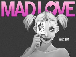 Harley Quinn 'MAD LOVE' Wallpaper [1024x by papatom