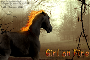 Girl on Fire by frillyunicorn
