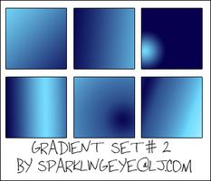 Gradient Set 2 by sparkling-eye