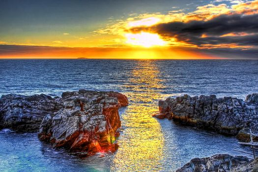 Welcome to Newfoundland Sunset by Witch-Dr-Tim