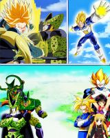 Perfect Cell - Perfection - Crossover by dbzandsm