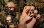 Dwalin Nail Art -The Hobbit- by Nippip