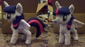 Alicorn Twilight Commission by dollphinwing