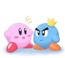 Kirby and the Prince by Sirometa