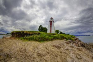 Lighthouse in New-Brunswick by PascalsPhotography