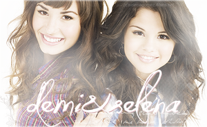 Demi and Selena Blend by xSparklyVampire