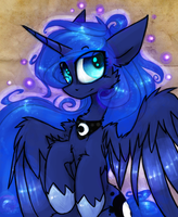 Fluffy Luna by the--Cloudsmasher