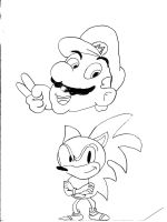 mario and sonic by sharkpac
