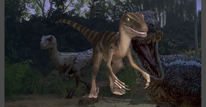 VELOCIRAPTOR JURASSIC PARK THE GAME by OoFiLoO
