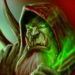 ...The Fel Orc... by ShadowPriest