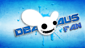 Deadmau5 fan background by JoshiePup