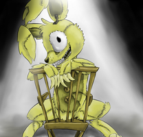 Fun With Plushtrap by NicoTheMintyRabbit