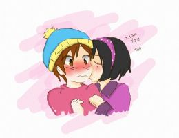 Cartman loves Patty by CariAguilar