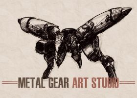Metal Gear Art Studio - Ray 2 by SolidAlexei