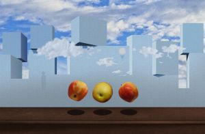 Homage to Magritte Reconstruction by leKikwi