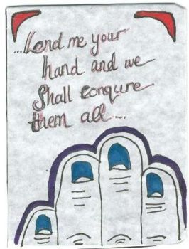 Give Me Your Hand..ATC by TheQueenofLeons